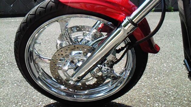 メッキカスタムした YAMAHA  XV1900バイク