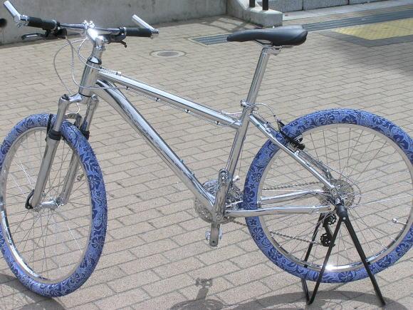 自転車パーツ メッキ